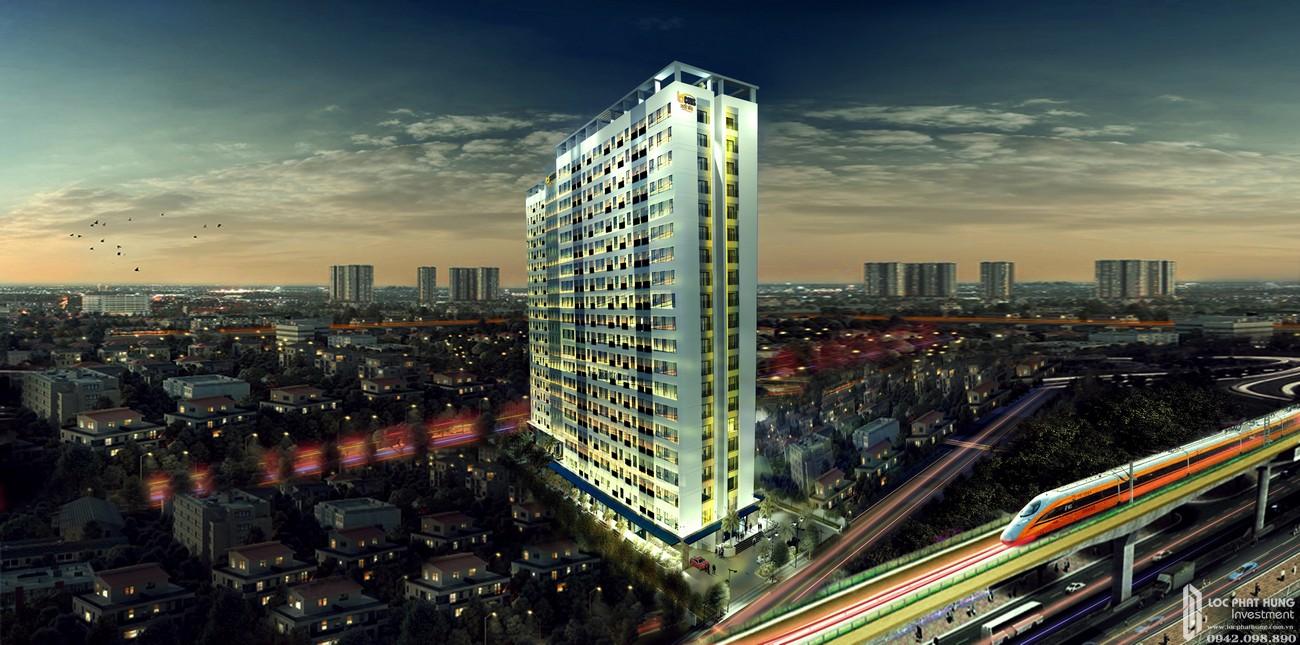 Phối Cảnh dự án căn hộ chung cư Bcons Suối Tiên Dĩ An Đường Tân Lập chủ đầu tư Bcons
